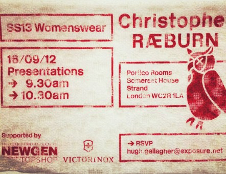 London Fashion week | Design of the invitations London Fashion week | Design of the invitations Christopher Raebur 2335114a  Home Christopher Raebur 2335114a