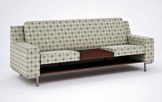 "The Functional ""Reverie"" sofa by Carolina Furniture The Functional ""Reverie"" sofa by Carolina Furniture transferir  Home transferir"