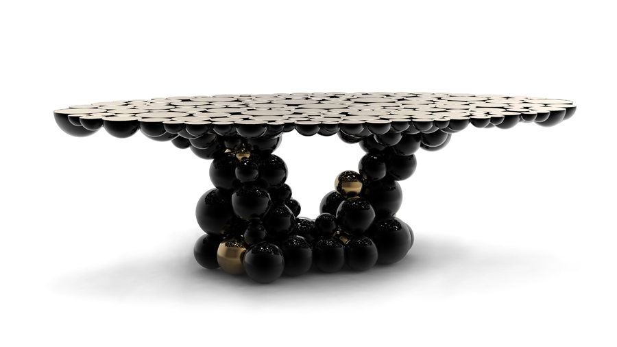 MAGNI | BOCA DO LOBO MAGNI | BOCA DO LOBO newton black gold dining table large size table limited edition boca do lobo 02  Home newton black gold dining table large size table limited edition boca do lobo 02