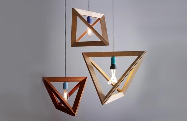MINIMALIST WOODEN LAMP