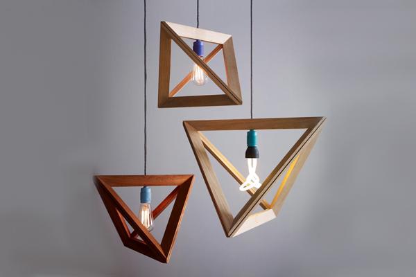 MINIMALIST WOODEN LAMP  MINIMALIST WOODEN LAMP  wooden lamp frame by herr mandel 01  Home wooden lamp frame by herr mandel 01