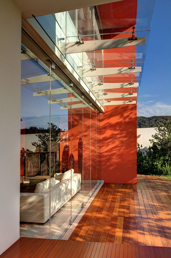 Mexico, residential project Guadalajara , work of Lassala Elene Arquitetos CONTEMPORARY MEXICAN HOUSE JUGGLING WITH GEOMETRIC VOLUMES AND NEAT LINES CONTEMPORARY MEXICAN HOUSE JUGGLING WITH GEOMETRIC VOLUMES AND NEAT LINES 4