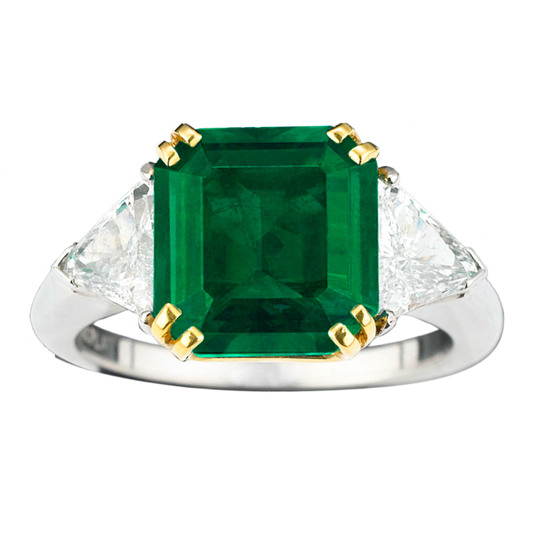 The perfect Gifts for Valetine's Day THE BEST VALENTINE'S DAY – JEWELRY GIFT'S THE BEST VALENTINE'S DAY – JEWELRY GIFT'S Colombian Square Emerald Diamond Ring 1  Home Colombian Square Emerald Diamond Ring 1