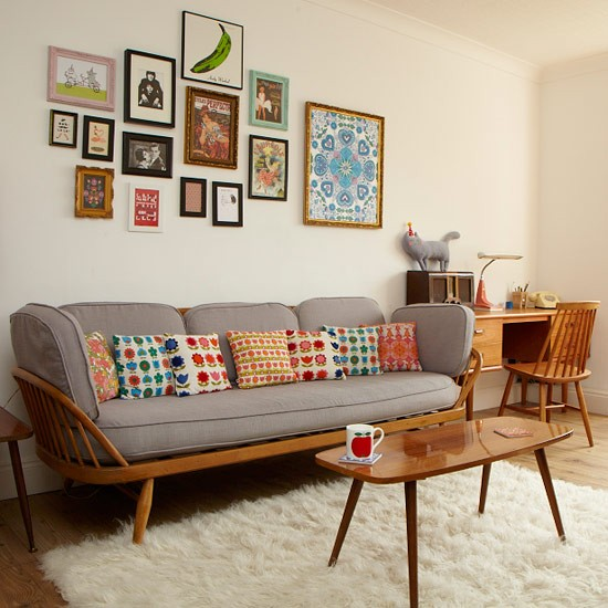 living room TOP 10 LIVING ROOM IDEAS Displaying frames 10 of the best colourful living room ideas PHOTOGALLERY Style at Home Housetohome