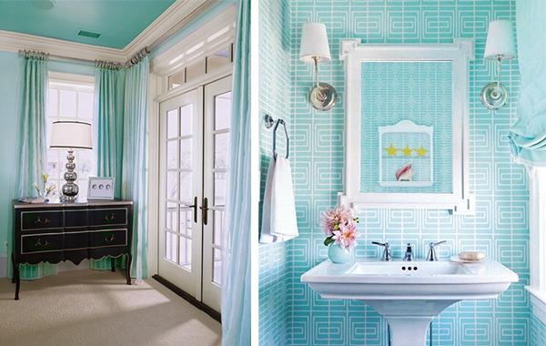 turquoise aqua suite bedroom bathroom BEST INTERIOR's COLOR TRENDS FOR SUMMER: AQUA BEST INTERIOR's COLOR TRENDS FOR SUMMER: AQUA 2 turquoise aqua suite bedroom bathroom