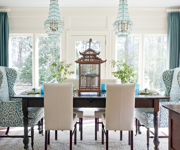 Turquoise dining table BEST INTERIOR's COLOR TRENDS FOR SUMMER: AQUA BEST INTERIOR's COLOR TRENDS FOR SUMMER: AQUA 4 Turquoise dining table