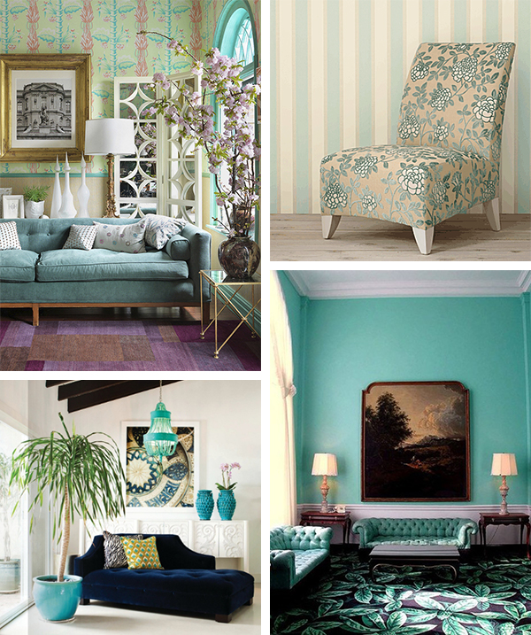 Best Interior S Color Trends For Summer Aqua Home And