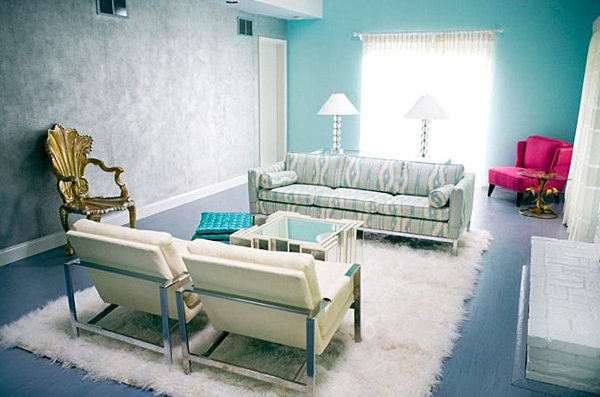 Best interior s color trends for summer aqua home and for Hotel decor trends 2016