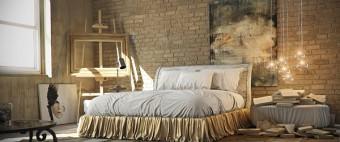 INDUSTRIAL STYLE: INSPIRATIONAL BEDROOMS DESIGN