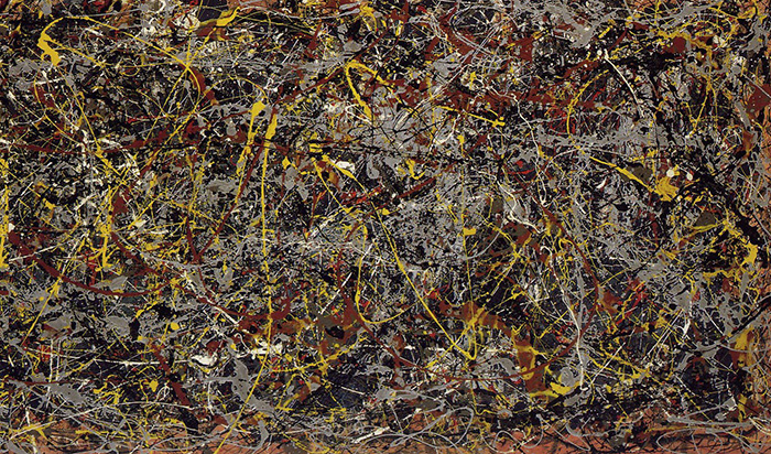Number 5 by Jackson Pollock, 1948 most expensive paintings ever THE 10 MOST EXPENSIVE PAINTINGS EVER SOLD Pollock no 5