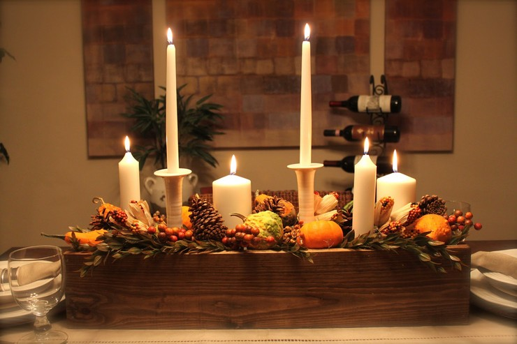 Thanksgiving centrepiece