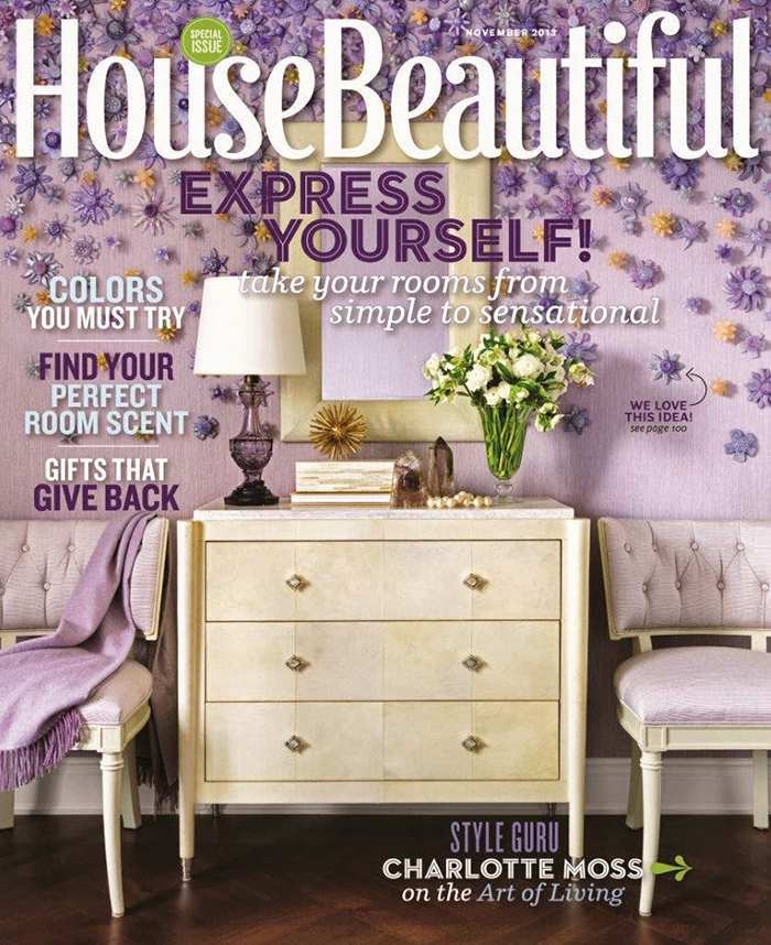 House Beautiful magazine top 10 interior design magazines in the usa TOP 10 Interior Design Magazines in the USA House Beautiful November  Home House Beautiful November