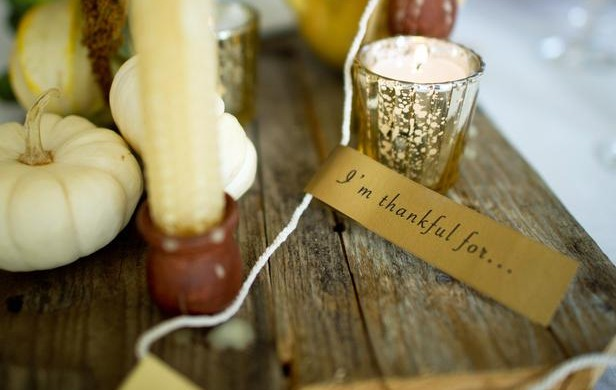 10 TIPS FOR A SIMPLY CHIC THANKSGIVING