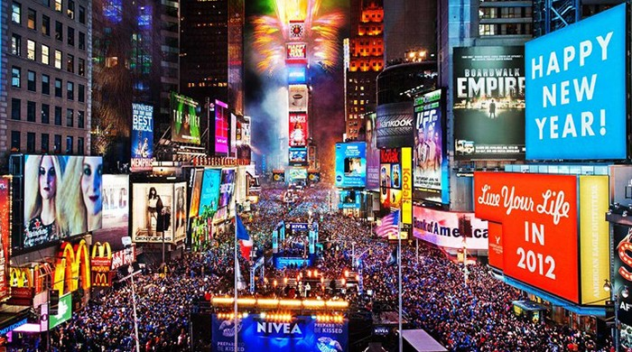 Travel destinations to spend New Year's Eve