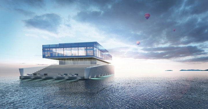The Oceanic Dream House made of Glass The Oceanic Dream House made of Glass glass mega yacht 1  Home glass mega yacht 1