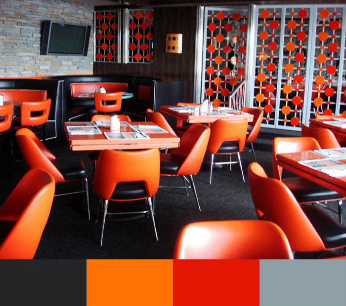 Restaurant color design ideas home and decoration