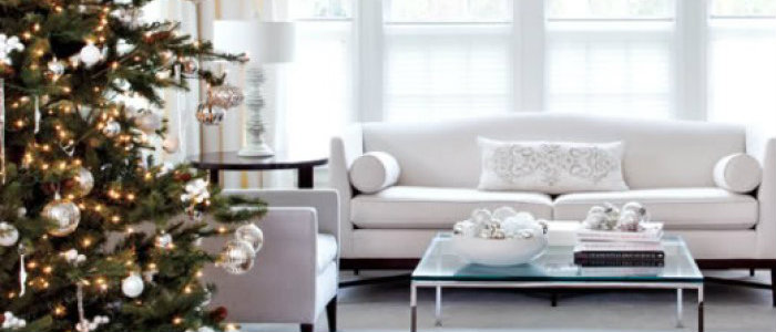 Winter Interior Decoration Ideas in White