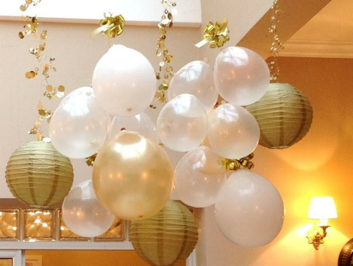Decoration for new years party