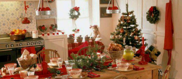 Christmas Decor ideas for kitchen Christmas Decor ideas for kitchen cozy christmas kitchen decor ideas 3  Home cozy christmas kitchen decor ideas 3