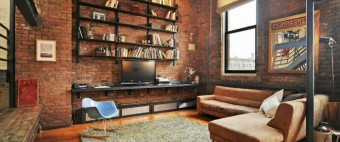 How to use industrial style in a spacious loft