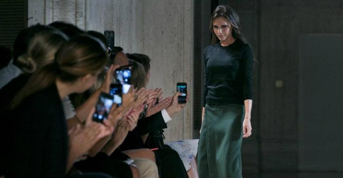 Victoria Beckham's NY Fashion Week Show 2015