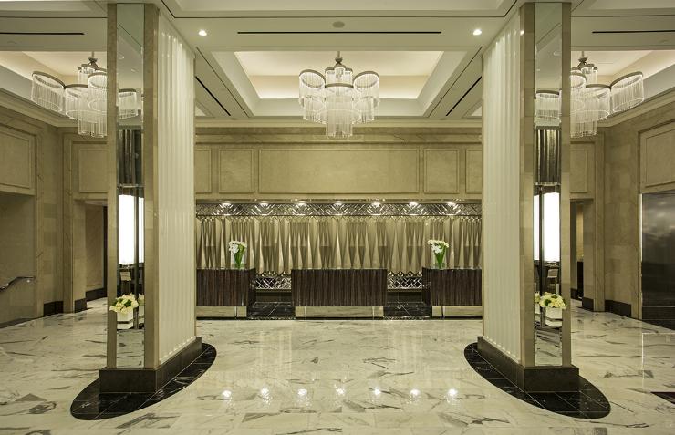 Loews Regency Hotel lobby in NYC 1