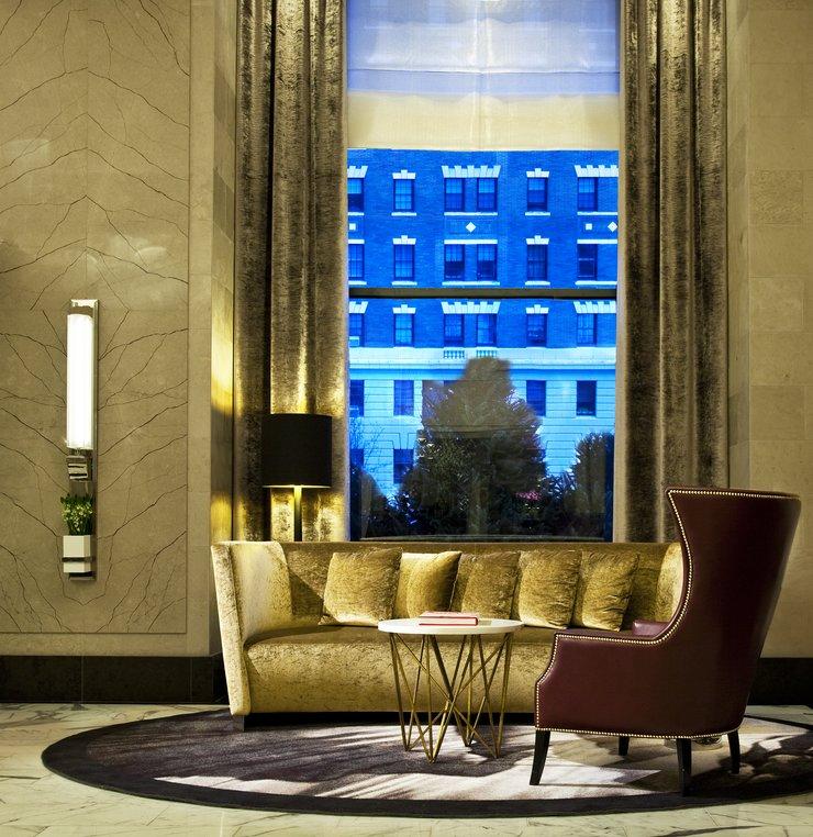 Loews Regency Hotel lobby in NYC  3