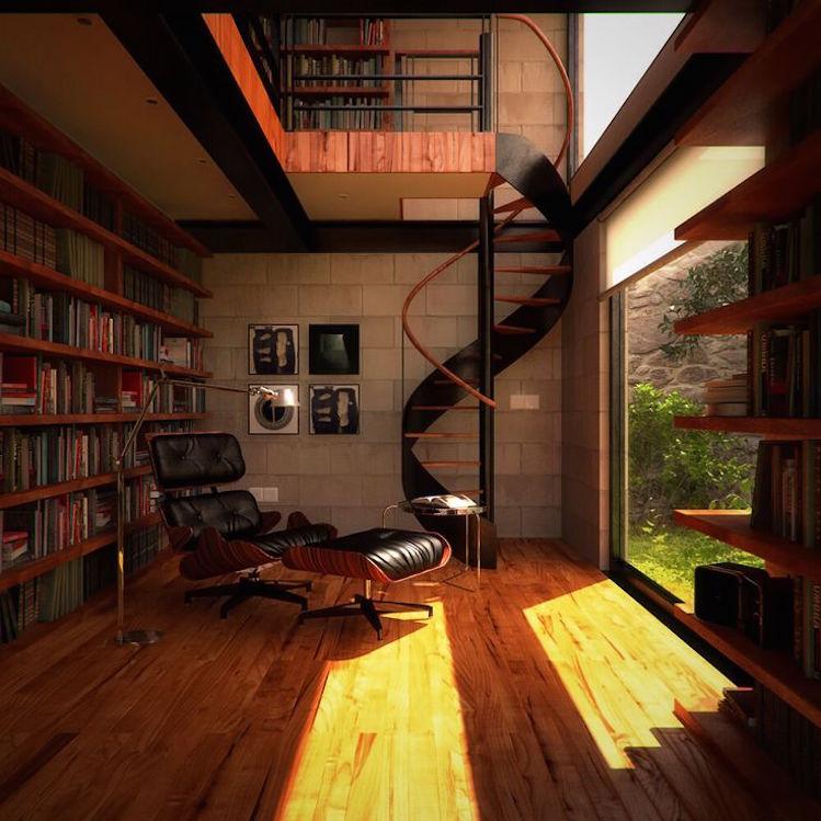 10 Steps to incorporate a Librar in your home   10 Steps to incorporate a Library in your home 10 Steps to incorporate a Library in your home cce7b6cefd3d3da43ea0ebb4f3c74765