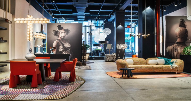 First MOOOI showroom at New York