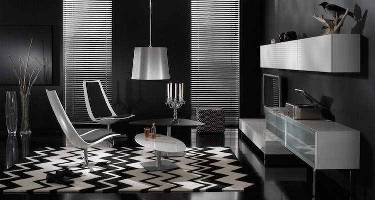 Decoration Ideas with black furniture