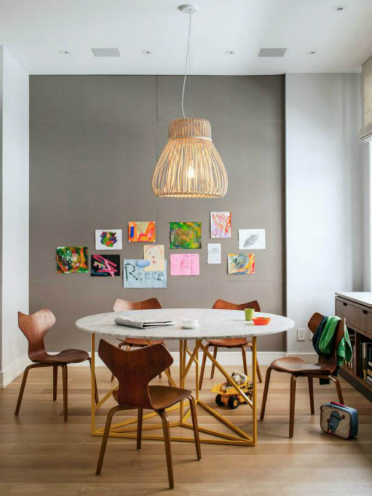 1 Know with Elle Décor the best ways to have a modern dining room Know with Elle Décor the best ways to have a modern dining room 14