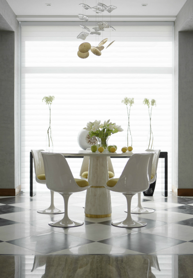 3 Know with Elle Décor the best ways to have a modern dining room Know with Elle Décor the best ways to have a modern dining room 34