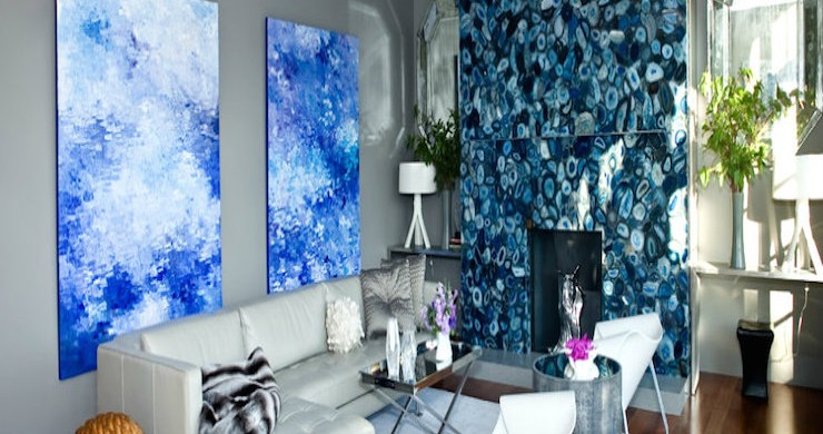 6 easy ways to use art in different living room sets