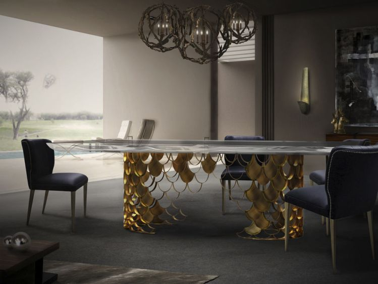 Decoration Trends The Best Tables For Your Dining Room