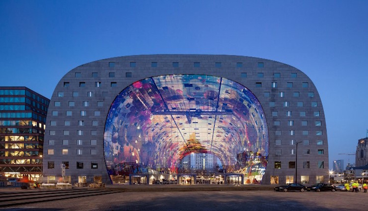JACOB VAN RIJS | Best Projects JACOB VAN RIJS | Best Projects JACOB VAN RIJS | Best Projects resized best interior designers top architects Jacob van Rijs MVRDVs Markthal Rotterdam 1