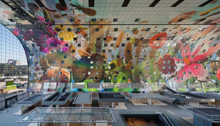 JACOB VAN RIJS | Best Projects JACOB VAN RIJS | Best Projects JACOB VAN RIJS | Best Projects resized best interior designers top architects Jacob van Rijs MVRDVs Markthal Rotterdam 3