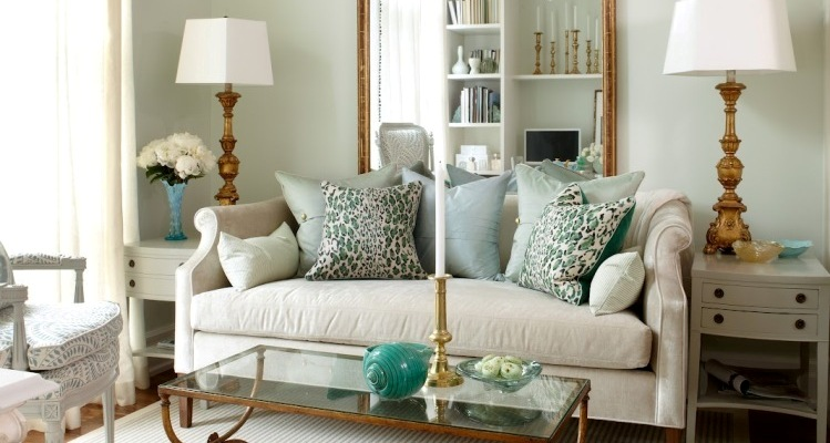 Autumn trends: Decorating with Emerald and Blue Topaz