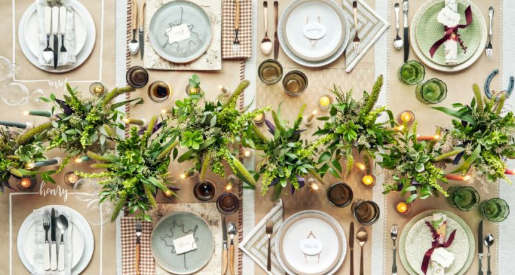 The most elegant Thanksgiving table settings