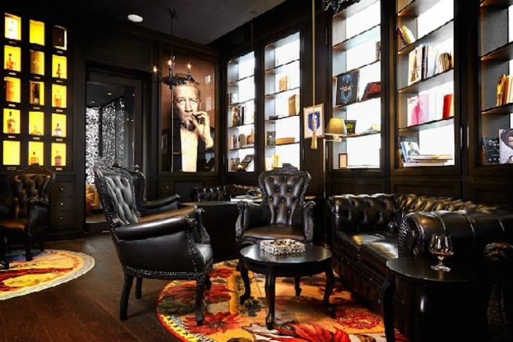 Best living room projects by Marcel Wanders Best living room projects by Marcel Wanders Best living room projects by Marcel Wanders Luxury Hotel Design Projects by Marcel Wanders kameha zurich smokinglounge