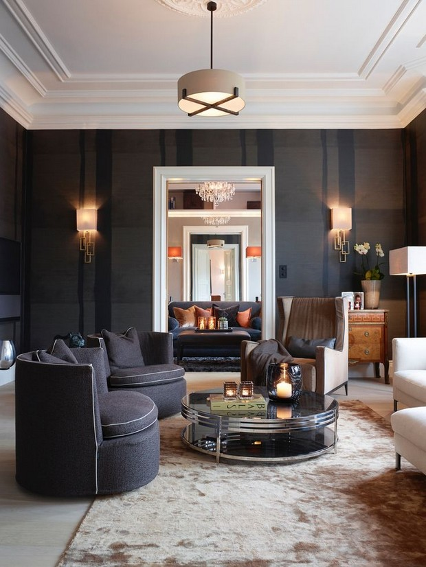 The 25 most modern and luxurious center tables page 10 - Living room center table decoration ideas ...
