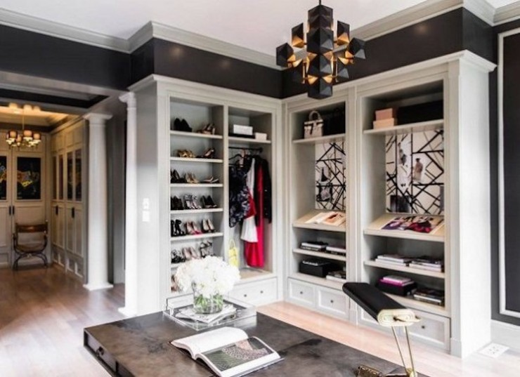 Luxury Closets for a modern bedroom