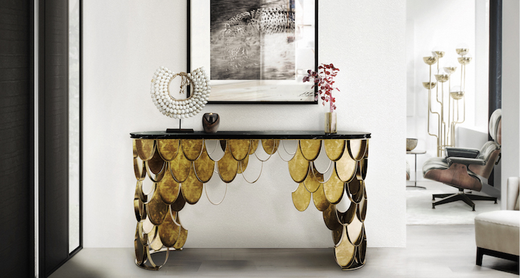Modern Console Tables for a Luxury Home Decoration