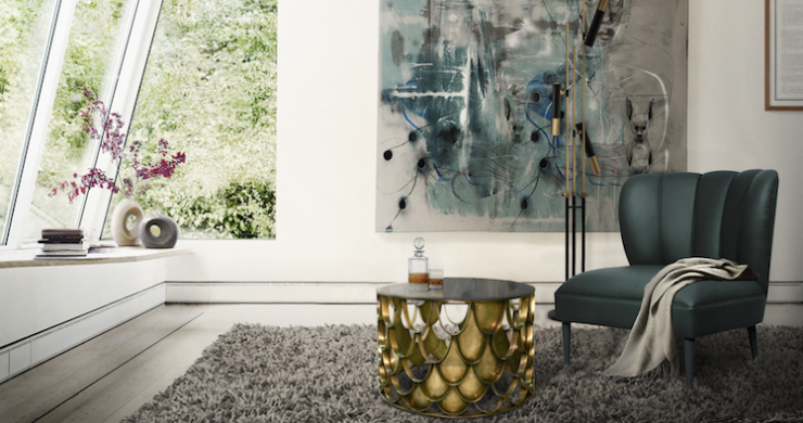 6 Glamorous Armchairs for your Living Room