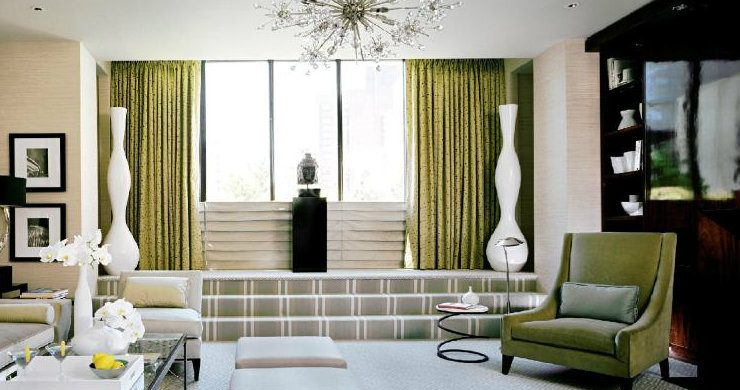 Art deco style in your living room