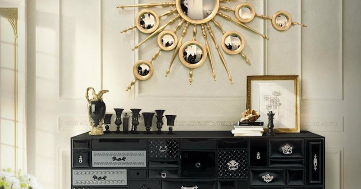 black gold black and gold Black and gold inspirations for your home 0 black and gold entry