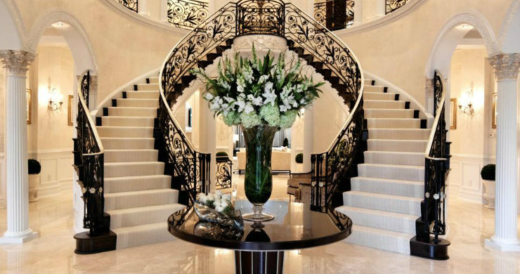 Stunning Foyers decoration