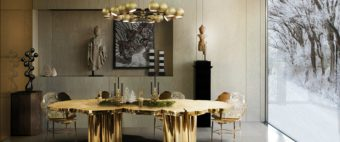 Tips and pieces to add a glam touch to your dining room
