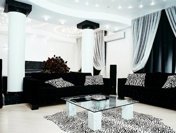 Abslr50 Appealing Black Silver Living Room Today 2020 11 23