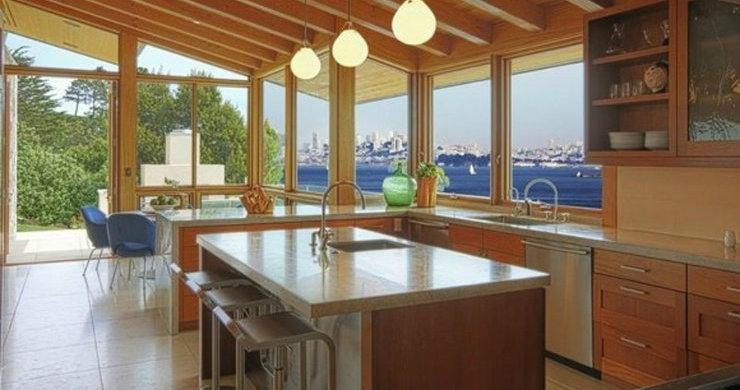beach style kitchens