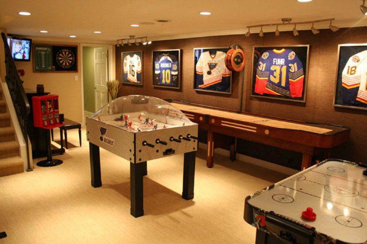 luxury game rooms Luxury game rooms Luxury game rooms for adults 3 luxury game rooms 740x492
